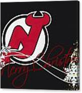 New Jersey Devils Canvas Print
