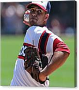 New York Yankees V Chicago White Sox Canvas Print