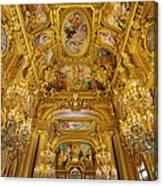Palais Garnier Interior Canvas Print