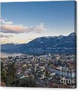 Panoramic View Canvas Print