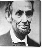 President Abraham Lincoln Canvas Print