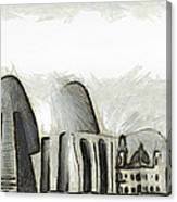 Rio De Janeiro Skyline Canvas Print