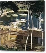 Rusi�ol I Prats, Santiago 1861-1931 Canvas Print