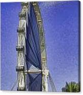 Singapore Flyer  Canvas Print