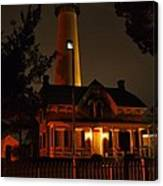 St Simons Island Lighthouse 2 Canvas Print