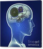 Thought Mechanism Canvas Print