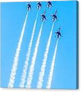 Thunderbirds In Formation  Canvas Print