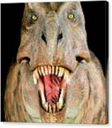 Tyrannosaurus Rex Model Canvas Print
