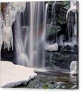 Usa, West Virginia, Blackwater Falls Canvas Print