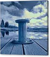 Variations Of A Dock Canvas Print