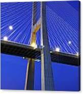Vasco Da Gama Bridge In Lisbon Canvas Print