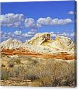 White Pocket Utah Landscape Canvas Print