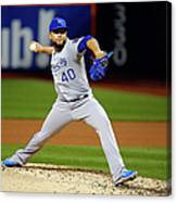 World Series - Kansas City Royals V New 7 Canvas Print