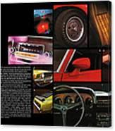 '70 Mustang Options Canvas Print