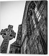 700 Years Of Irish History At Quin Abbey Canvas Print