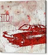 71 Pinto Canvas Print