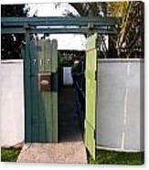 717 Gate Open Coronado California Canvas Print