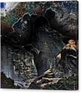 Space Landscape Canvas Print