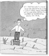 New Yorker December 11th, 2006 Canvas Print
