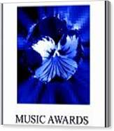 Music Awards Canvas Print