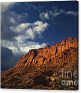 clearing storm waterpocket fold capitol reef NP Canvas Print