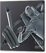 Exercise Workout Canvas Print