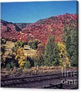 744 Sl Two Tracks Canvas Print