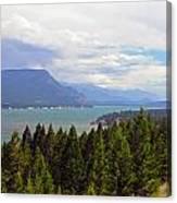 749p Columbia Lake Canada Canvas Print
