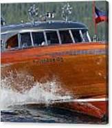 Thunderbird Yacht Canvas Print
