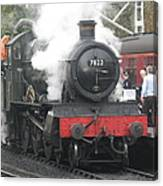 7822 'foxcote Manor' Canvas Print