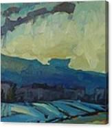 7am Snowsquall Canvas Print