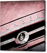 1965 Sunbeam Tiger Grille Emblem Canvas Print
