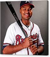 Atlanta Braves Photo Day Canvas Print