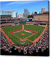 Boston Red Sox V Baltimore Orioles Canvas Print