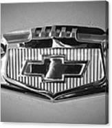 Chevrolet Emblem Canvas Print