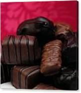 Chocolate Candies Canvas Print
