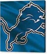 Detroit Lions Uniform Canvas Print