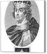 Edward I (1239-1307) Canvas Print