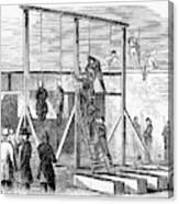 Execution Of Conspirators Canvas Print