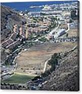 Fly Over Gran Canaria Canvas Print