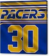 Indiana Pacers Uniform Canvas Print
