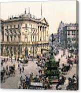 London Piccadilly Circus Canvas Print