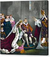 Mary, Queen Of Scots Canvas Print