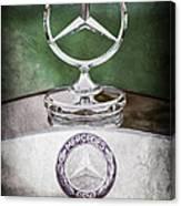 Mercedes Benz Hood Ornament Canvas Print