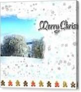 Christmas Card 24 Canvas Print