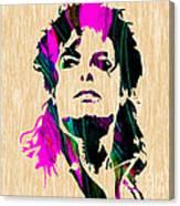 Michael Jackson Painting Canvas Print
