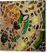 Mosaic Doorway Canvas Print