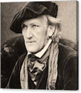 Richard Wagner (1813-1883) Canvas Print