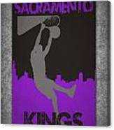 Sacramento Kings Canvas Print