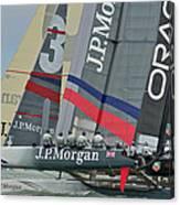 San Francisco Sailboat Racing Canvas Print